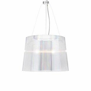 G? 1-Light Drum Pendant by Kartell