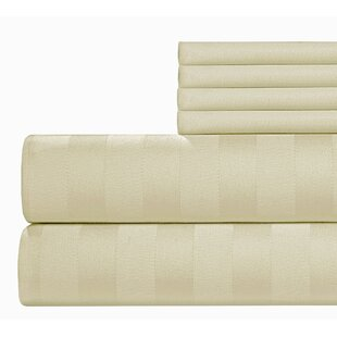 6 Piece 500 Thread Count Egyptian Quality Cotton Sheet Set