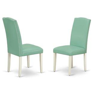 Enjoyable Dandrea Upholstered Dining Chair Set Of 2 Machost Co Dining Chair Design Ideas Machostcouk