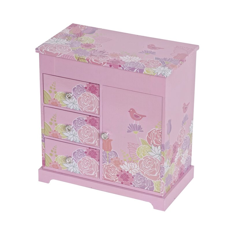 Tori Home Poppy Musical Ballerina Jewelry Box Reviews Wayfair