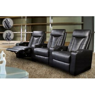 Wildon Home ® St. Helena Home Theater Seating (Row of 3)