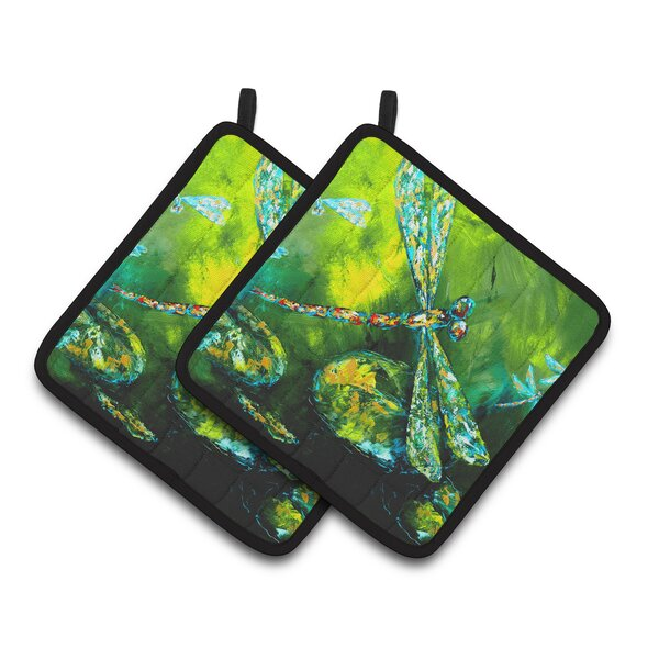 Caroline S Treasures Insect Dragonfly Potholder Wayfair