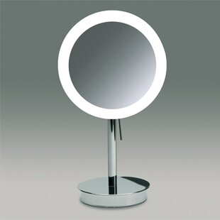 Deals Round Pedestal Magnifying Mirror By Windisch by Nameeks