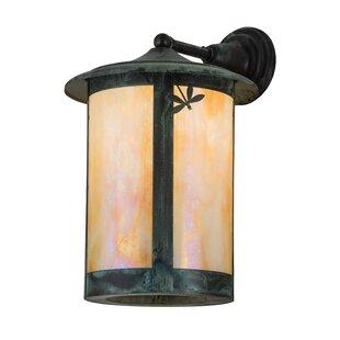 Samar Dragonfly Outdoor Wall Lantern by L..