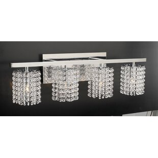 Affordable Price Komi 4-Light Vanity Light By Everly Quinn