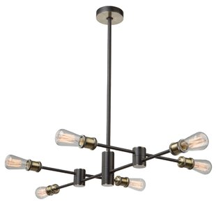 Mercury Row Wolfgram 6-Light Sputnik Chandelier