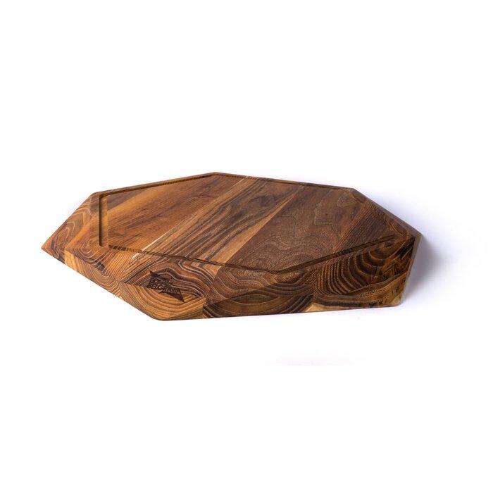 Edge Of Belgravia Teak Wood Star Cutting Board