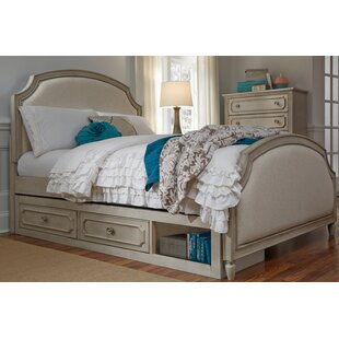 One Allium Way Alaina Complete Upholstered Storage Platform Bed
