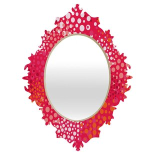 Deny Designs Khristian A Howell Brady Dots Baroque Accent Mirror