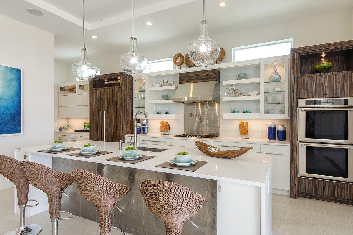 Coastal Modern Oceanfront Kitchen