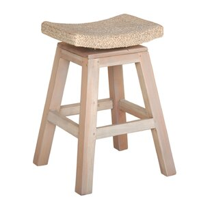 Ofelia 24 Swivel Bar Stool Highland Dunes