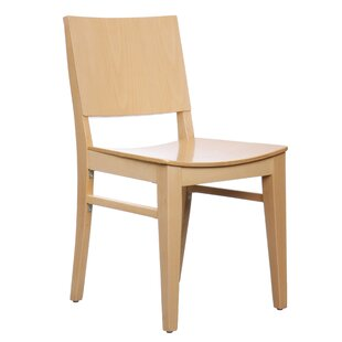 Zinab Solid Wood Dining Chair (Set of 2) Mistana