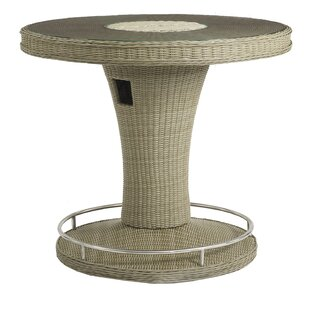 Lenita Rattan Bar Table By Sol 72 Outdoor