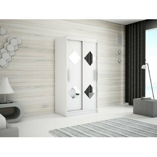 Paschall 2 Door Sliding Wardrobe By Mercury Row