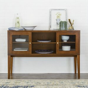 Oakford Wood Buffet Table by Red Barrel Studio