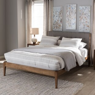 Lotte Tufted Platform Bed