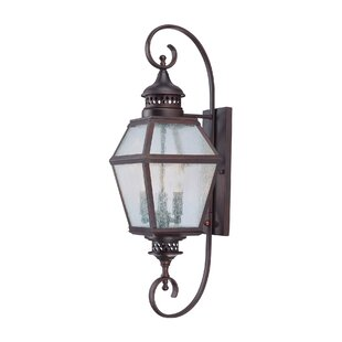 Harshbarger Outdoor Wall Lantern by Alcott Hill