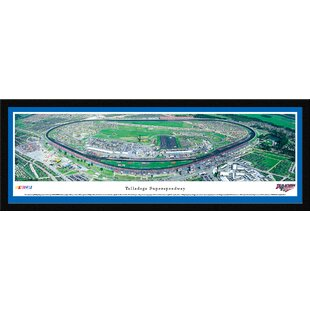 NASCAR Talladega Superspeedway by James Blakeway Framed Photographic Print By Blakeway Worldwide Panoramas, Inc