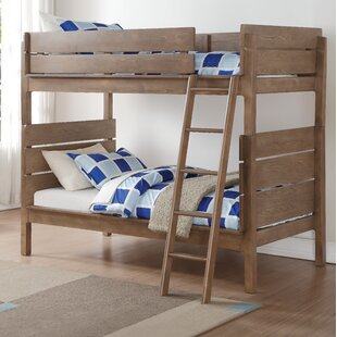 Compare prices Blackwell Twin over Twin Bunk Bed by Harriet Bee Reviews (2019) & Buyer's Guide
