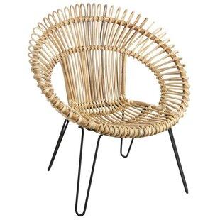 Check Price Corinth Natural Round Tub Chair