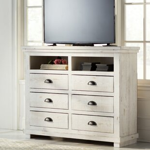 Lark Manor Castagnier 6 Drawer Media Chest