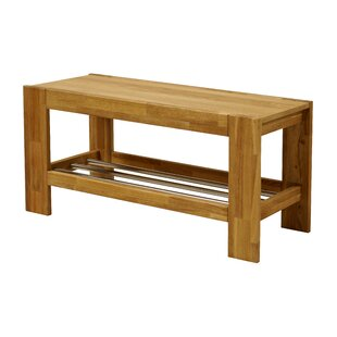 Armstrong Wooden Storage Bench By Gracie Oaks