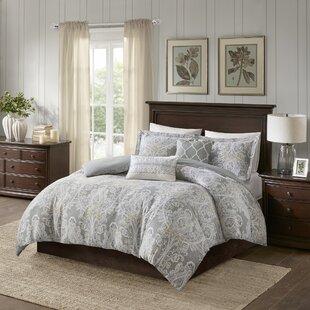 Harbor House Hallie 100% Cotton 5 Piece Duvet Set