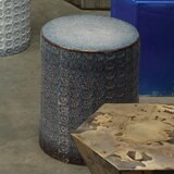 Jurida Drum End Table by Bungalow Rose