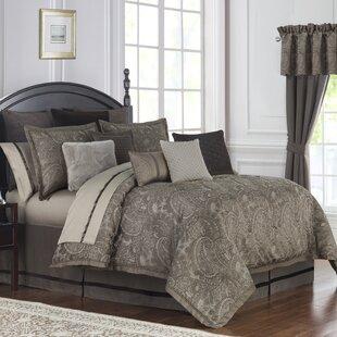 Glenmore 4 Piece Reversible Comforter Set