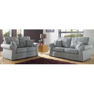 Roma 2 Piece Sofa Set By Winchester Leather Ltd