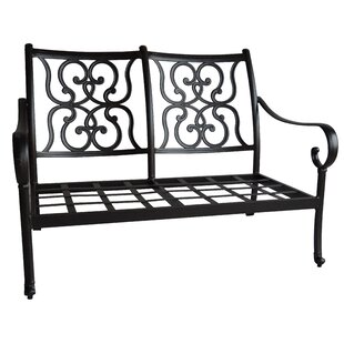 Santa Anita Loveseat with Cushions by K&B Patio