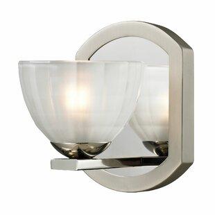 Weedman 1-Light Bath Sconce by Winston Porter