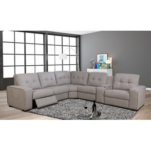 Kanode Power Motion Reversible Reclining Sectional
