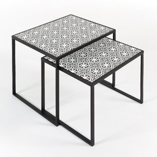 Haas 2 Piece Nest Of Tables By World Menagerie