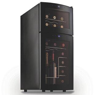 21 Bottle Dual Zone Freestanding Wine Cooler