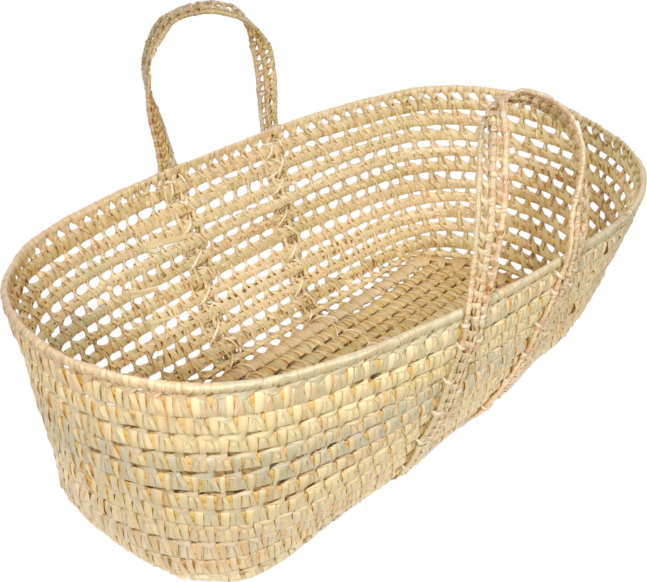 Sleeping Partners 2 Wicker Basket & Reviews   Wayfair