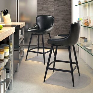Francesca 31.8 Swivel Bar Stool Brayden Studio