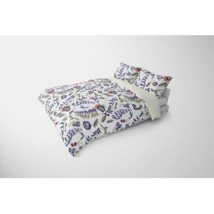 Yerger Wild Flower Plush Single Comforter by Red Barrel Studio