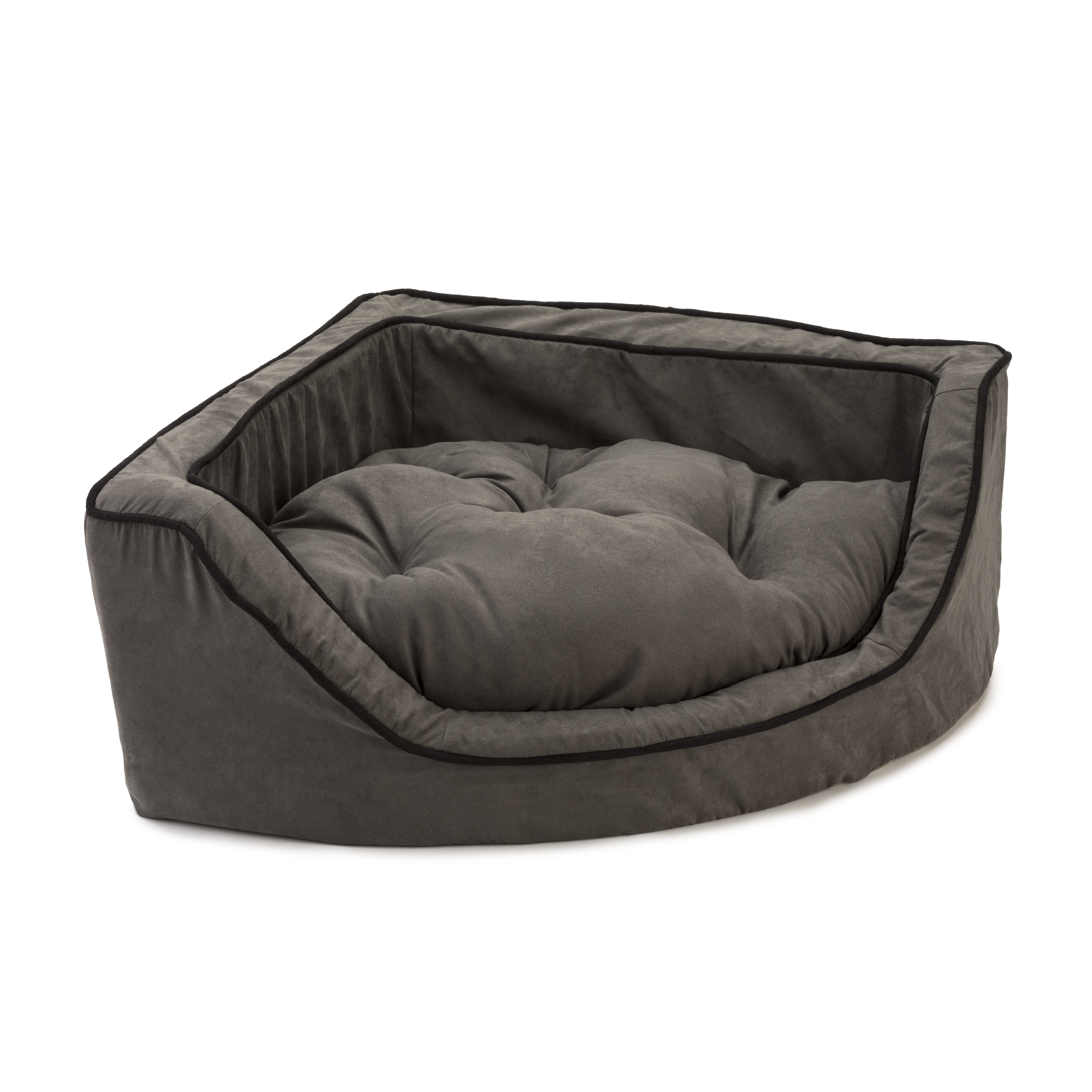 Wonderful Luxury Corner Bolster Dog Bed. By Snoozer Pet Products
