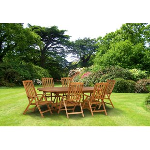 Easton Manhattan 6 Seater Dining Set By Sol 72 Outdoor