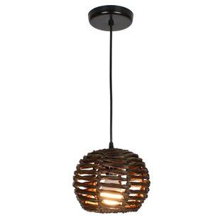 Luisa 1-Light Globe Pendant by EQLight