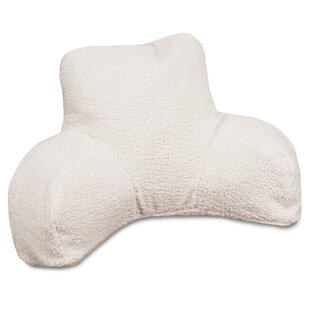 Solid Sherpa Bed Rest Pillow