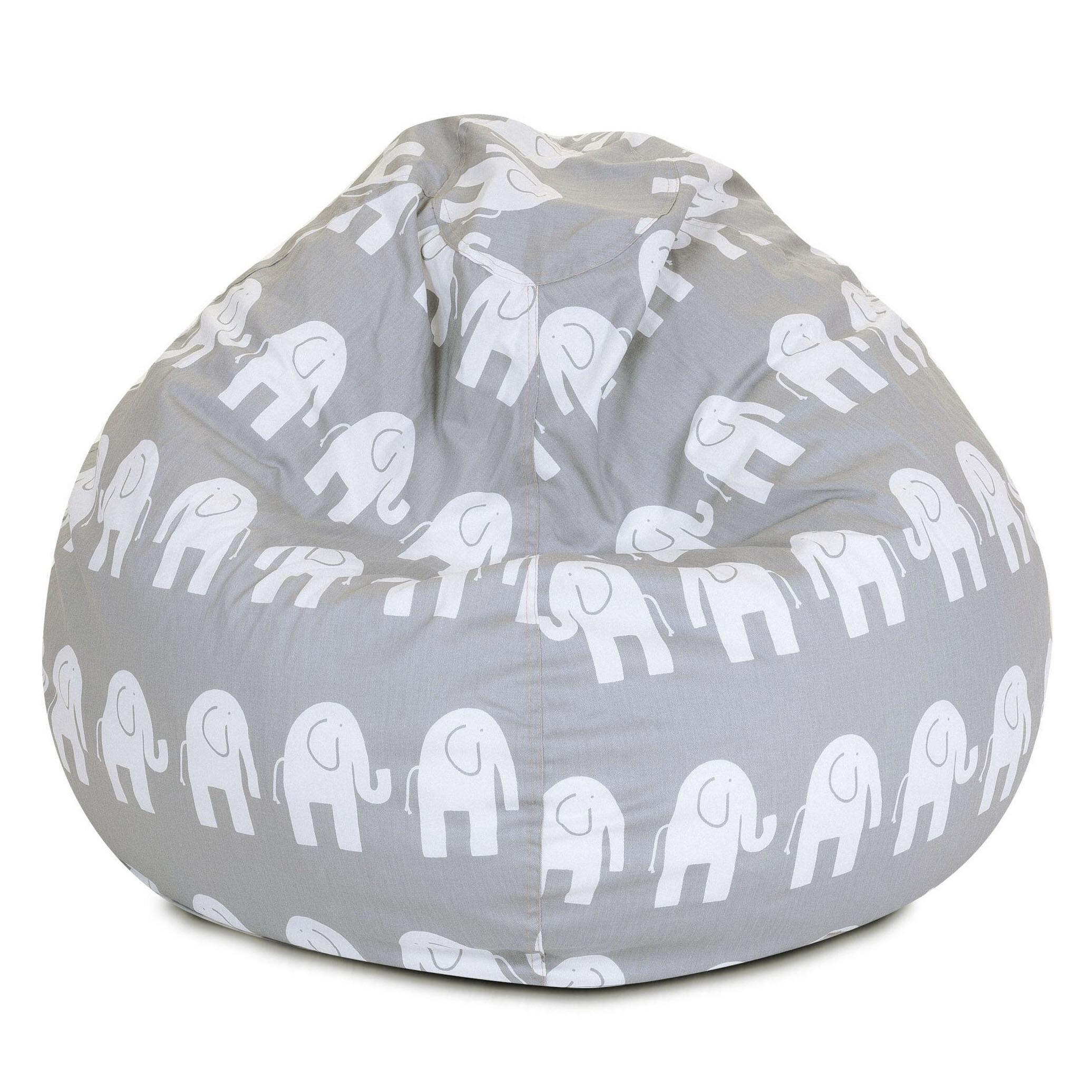 Pleasant Mack Milo Elephant Bean Bag Chair Reviews Wayfair Ibusinesslaw Wood Chair Design Ideas Ibusinesslaworg
