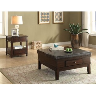 A&J Homes Studio Orville 2 Piece Coffee Table Set