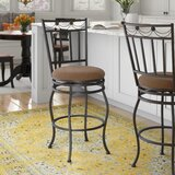 Ine Bar & Counter Swivel Stool by Charlton Home®