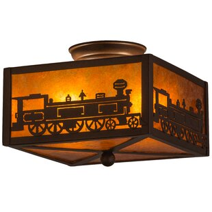 Meyda Tiffany Train 2-Light Fl..
