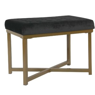 Simeon Tufted Ottoman by Mercer41