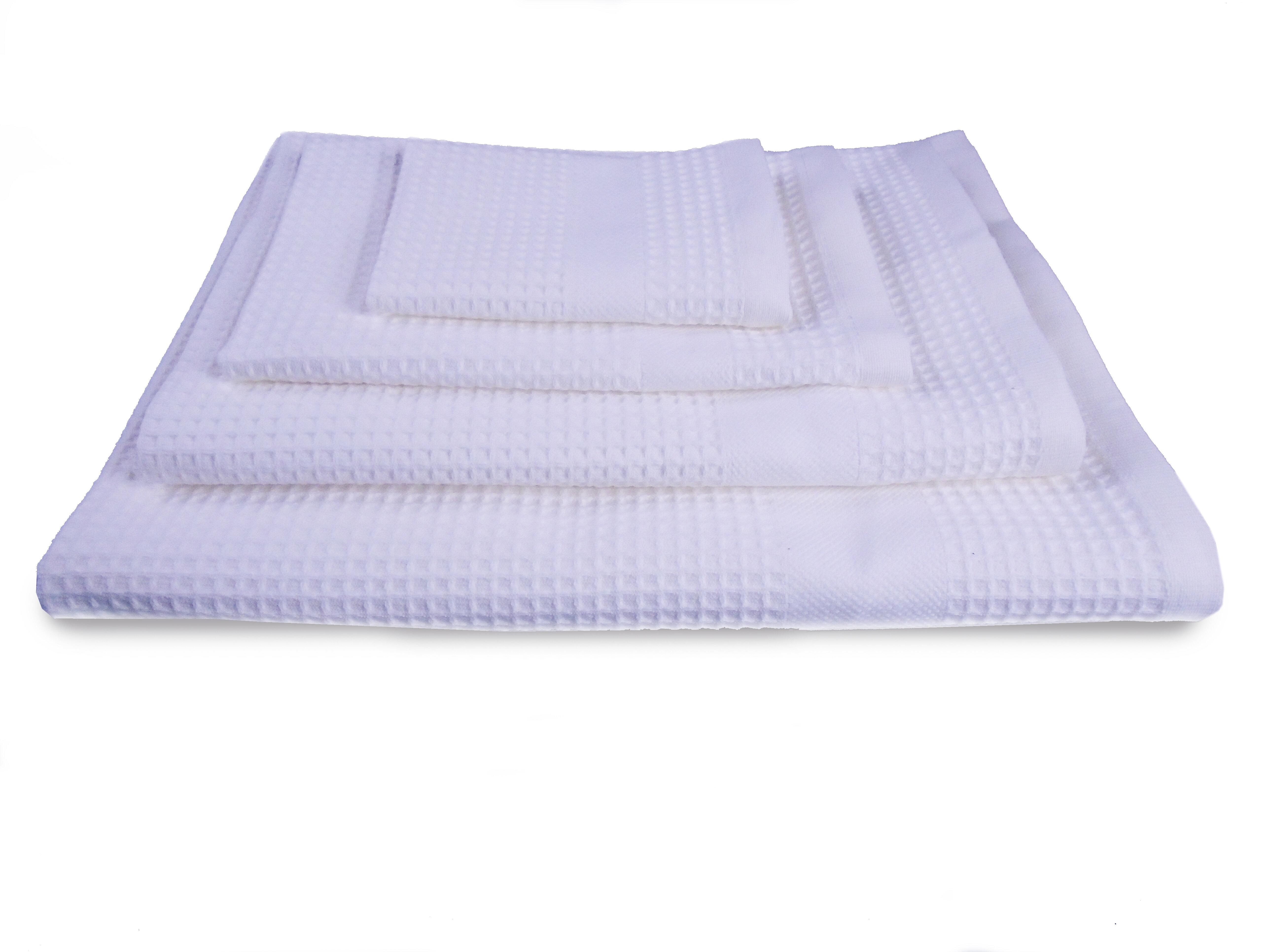 Belle Epoque Waffle Resort 4 Piece 100% Cotton Towel Set  892ff3441