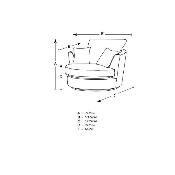 Bullock Swivel Tub Chair