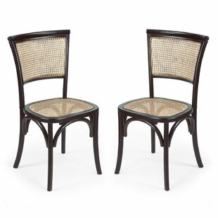 Dining Cane Side Chair (Set of 2) by Adeco Trading